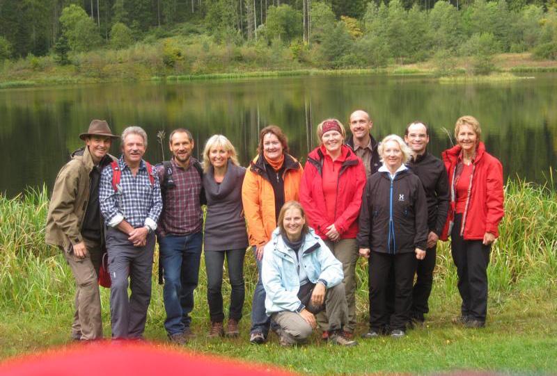Wanderung zum Sankenbachsee und Wasserfall in Baiersbronn