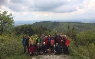 Familienwanderung 2019 des Skiclub Bergfelden